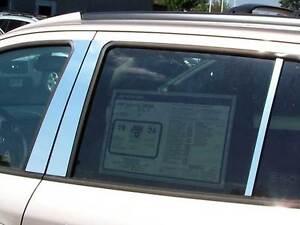 Stainless Chrome Pillar Posts 6PCS QAA Window Trim FOR Toyota Sequoia 2008-2020