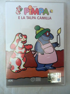 Pimpa e la talpa camilla film video cd cartoni animati ebay