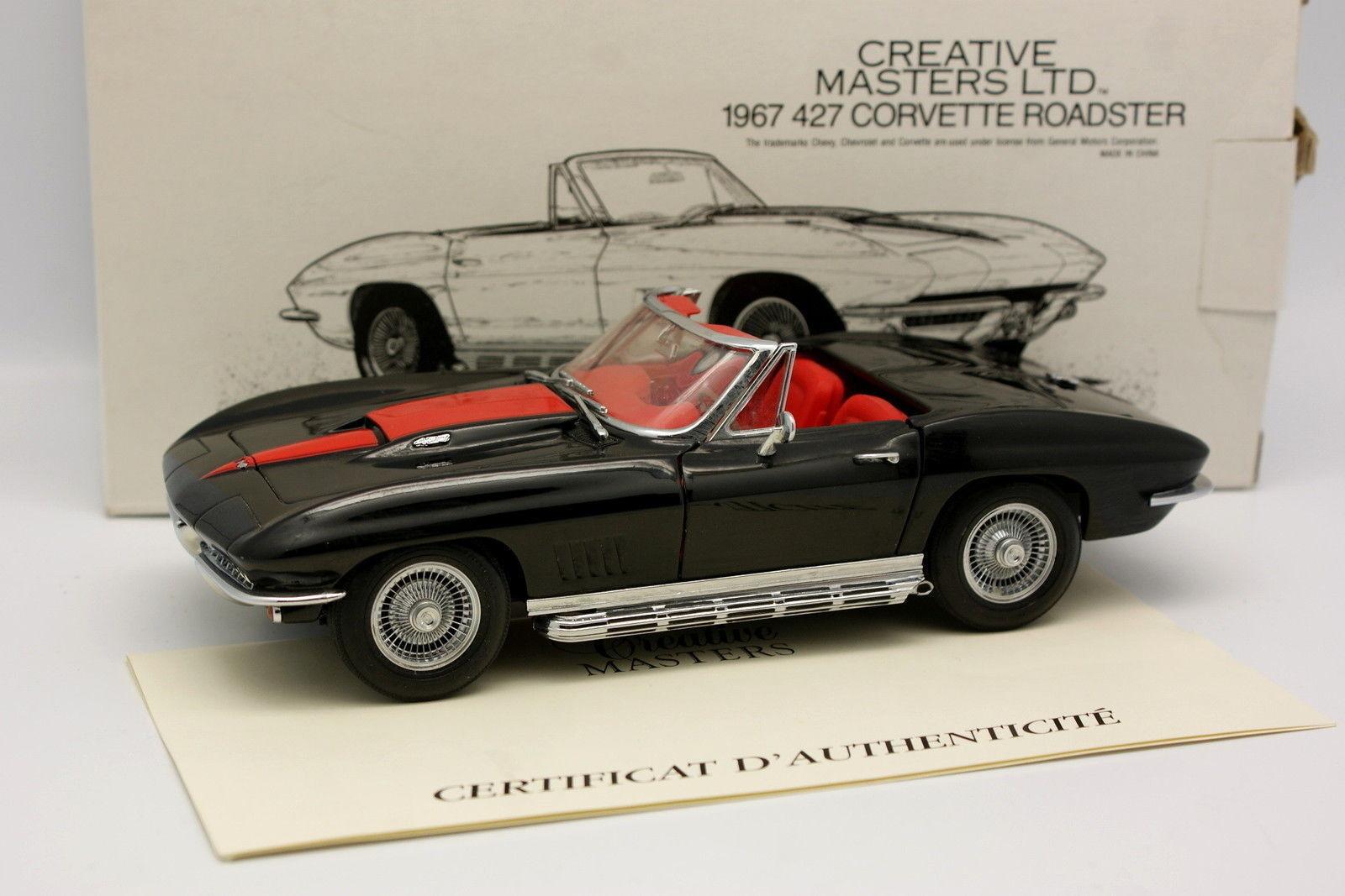 Revell kreative meister 1   20 - chevrolet corvette cabrio 427 1967