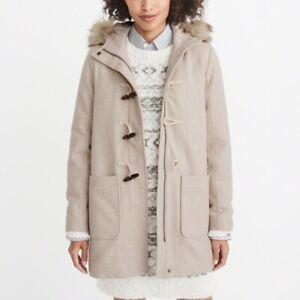Abercrombie-Wool-Duffle-Coat-Large