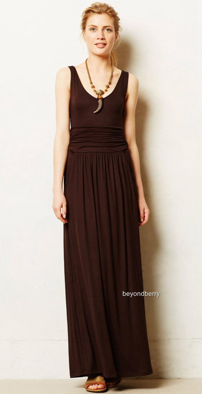 NEW Anthropologie Talassemtane Maxi Dress by Vanessa Virginia  Größe M
