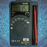 LCD Mini Auto Range AC/DC Pocket Digital Multimeter Voltmeter Tester Tool YS