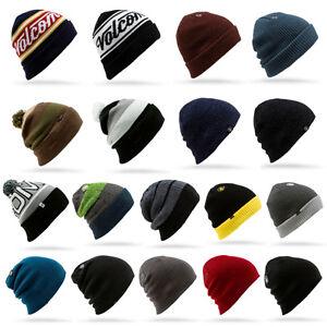 VOLCOM BEANIE Hat headphones NEW Cap cap Hat SEVERAL Man Woman SNOW ... 4fad155154a
