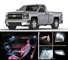 2010 - 2015 Chevrolet Silverado Premium White LED Interior Package (12 Pieces)