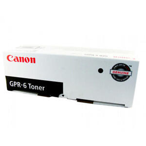 Genuine-Canon-Black-toner-cartridge-GPR-6-New-For-laser-printer