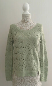 Anthropologie-Knitted-amp-Knotted-Sweater-sz-Medium