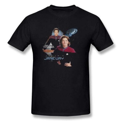 Star Trek T-shirt The Original Sci-Fi TV Series Space Men/'s T Shirts Black