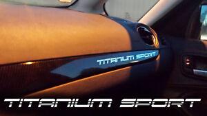 TITANIUM-SPORT-Aufkleber-Spiegel-Folie-Armaturenbrett-Ford-S-Max-KUGA-Mondeo