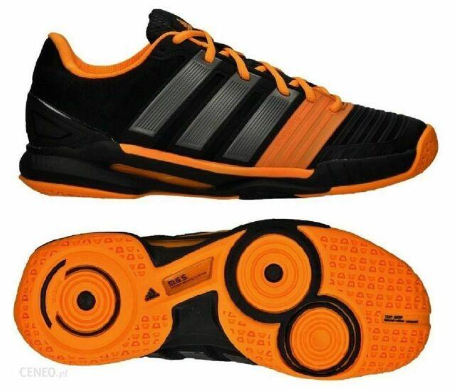NEW Adidas adiPower Stabil 11 Men's Tennis Shoes, Black/Orange, M22762,  Size 6