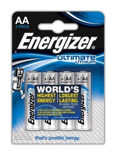 48 x Energizer Lithium Batterie AA Mignon LR6 FR6 MP3 Photo 1,5 V L91