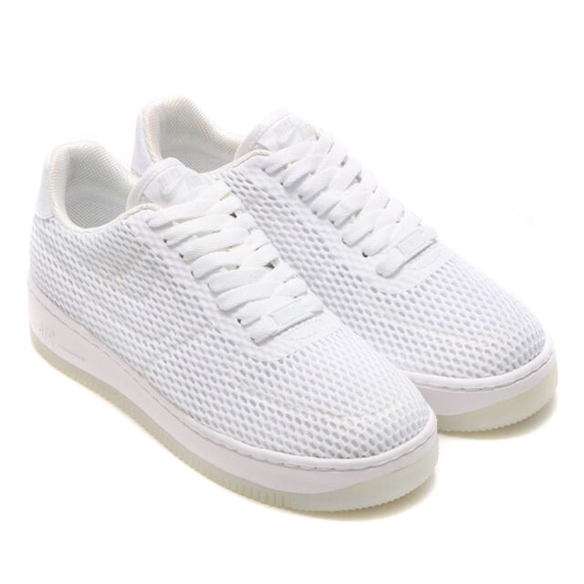 237c356ec8eb Nike Air Force 1 Low Upstep BR Shoes White 833123 100 Women s New