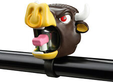 Crazy Stuff Childrens Bicycle Bell in Animal Design Black Bull