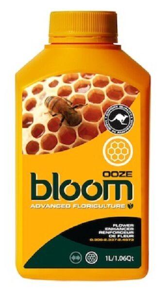 Bloom OOZE Floriculture Amarillo Botella Nutrientes Fertilizantes Advanced 1L  Ahorre