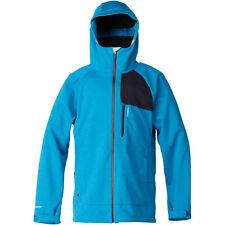 Mens Quiksilver Spine Softshell Ski Winter Snowboard Jacket Celestial Blue XL