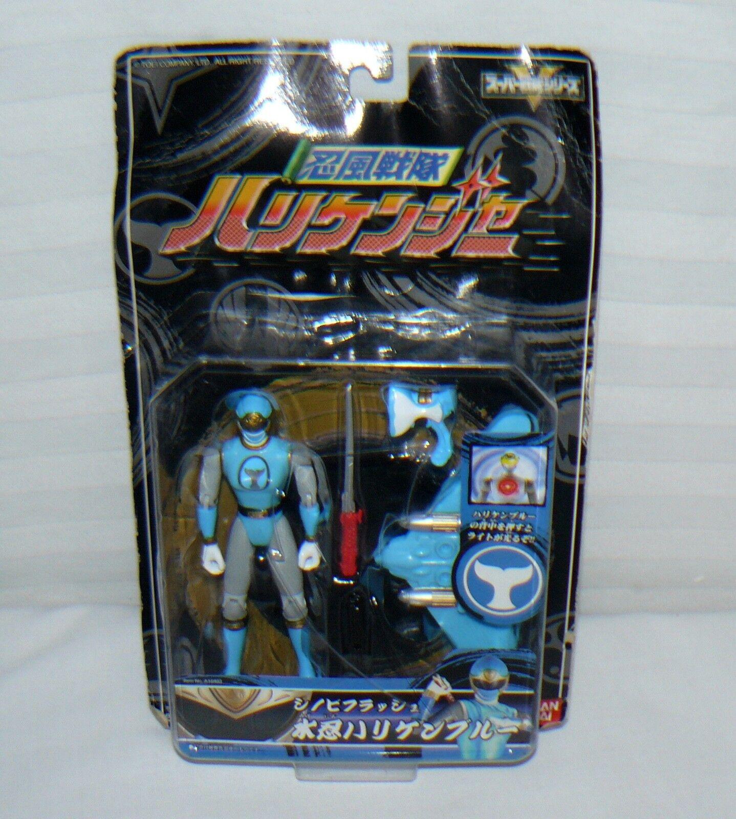 BanDai bluee Power Ranger Ranger Ranger Action Figure Japanese 5 1 2  d404ac
