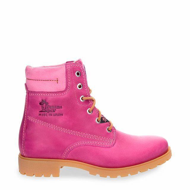 Panama Jack Damenschuhe Schuhe Stiefelette Panama03 Colours B2 Pink Boots