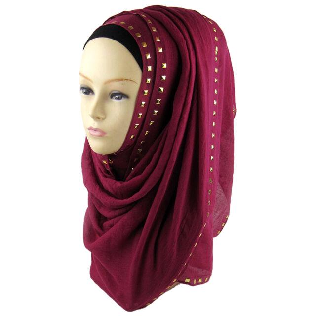 Women Muslim Long Soft Hijab Maxi Islamic Scarf High Quality Shawl Wrap New