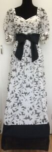 Rare-Genuine-Vintage-Designer-Laura-Phillips-Floral-Cotton-Long-Maxi-Dress-8-10