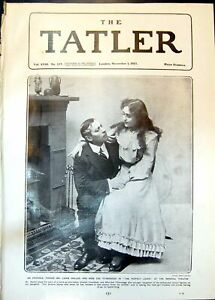Old-Print-Lewis-Waller-Eve-Titheradge-Perfect-Lover-Imperial-Theatre-1905-20th