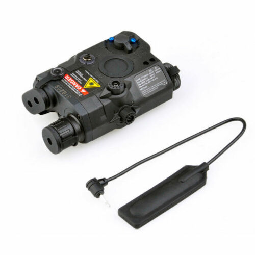 FMA PEQ-15 Upgrade LED FLASHLIGHT w//Red Laser with IR Lens Electricity With Box