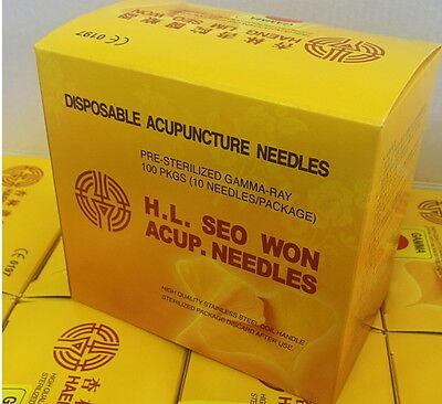 Acupuncture Natural & Alternative Remedies Adroit Haeng Lim Disposable Acupuncture Needles 1000pcs Spring Handle All Sizes Sale