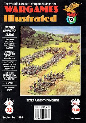 Amichevole Wargames Illustrata Nº 72 Settembre 1993-mostra Il Titolo Originale