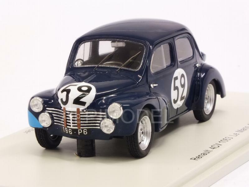 nuevo sádico Renault 4CV 1063 Le Mans Mans Mans 1951 Sandt - Moser 1 43 SPARK S5214  seguro de calidad