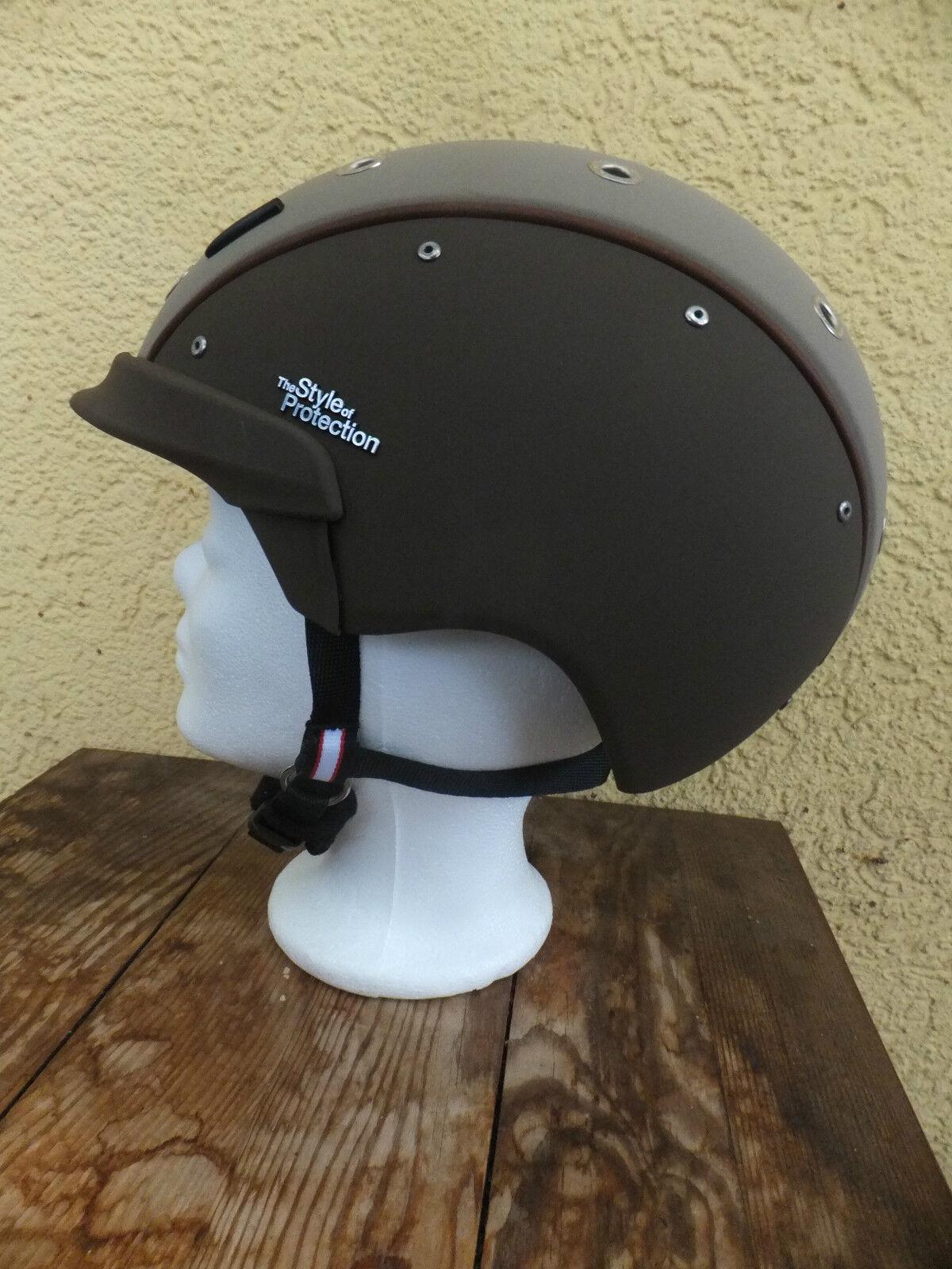 nuovi  CASCO Champ - 6 L'Avana Marronee MONTALA casco con sigillo vg1.01