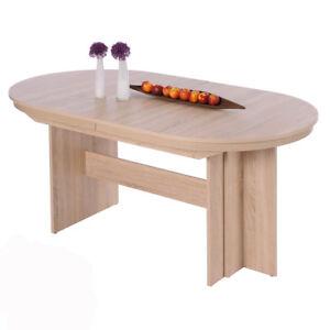 Esstisch Ausziehbar Sonoma Eiche Tisch Rom Oval 160 310 X90 Cm Bis