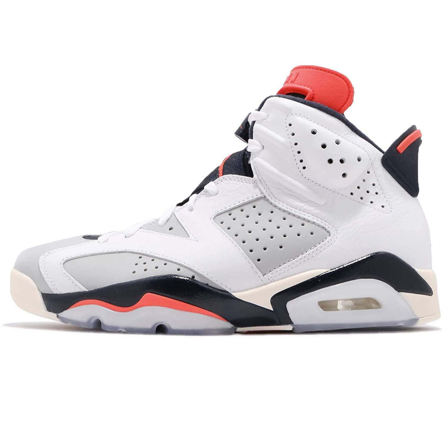 Jordan 6 Retro  Tinker  White Infrared 23-Neutral Grey (384664 104)