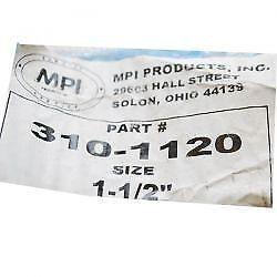 "MPI 310-1120 CORRUGATED 1 1//2/"" INCH ID BLACK OIL RESISTANT PVC HOSE 10/' FT BOAT"