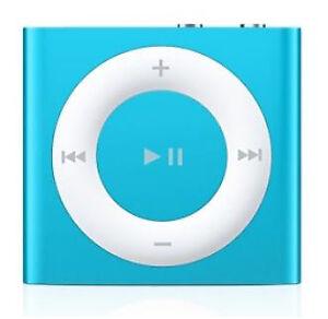 Apple Ipod Mkme2ll A Shuffle 4th Generation Blue 2gb Ebay