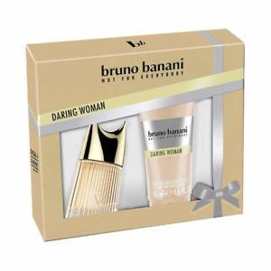 Bruno Banani Parfüm Damen Frauen Daring Woman Eau de Toilette Body Lotion Creme