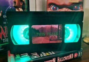 Twin Peaks VHS Night Light, Horror Movie, Bed Light, Desk Light, Cartoon, TV