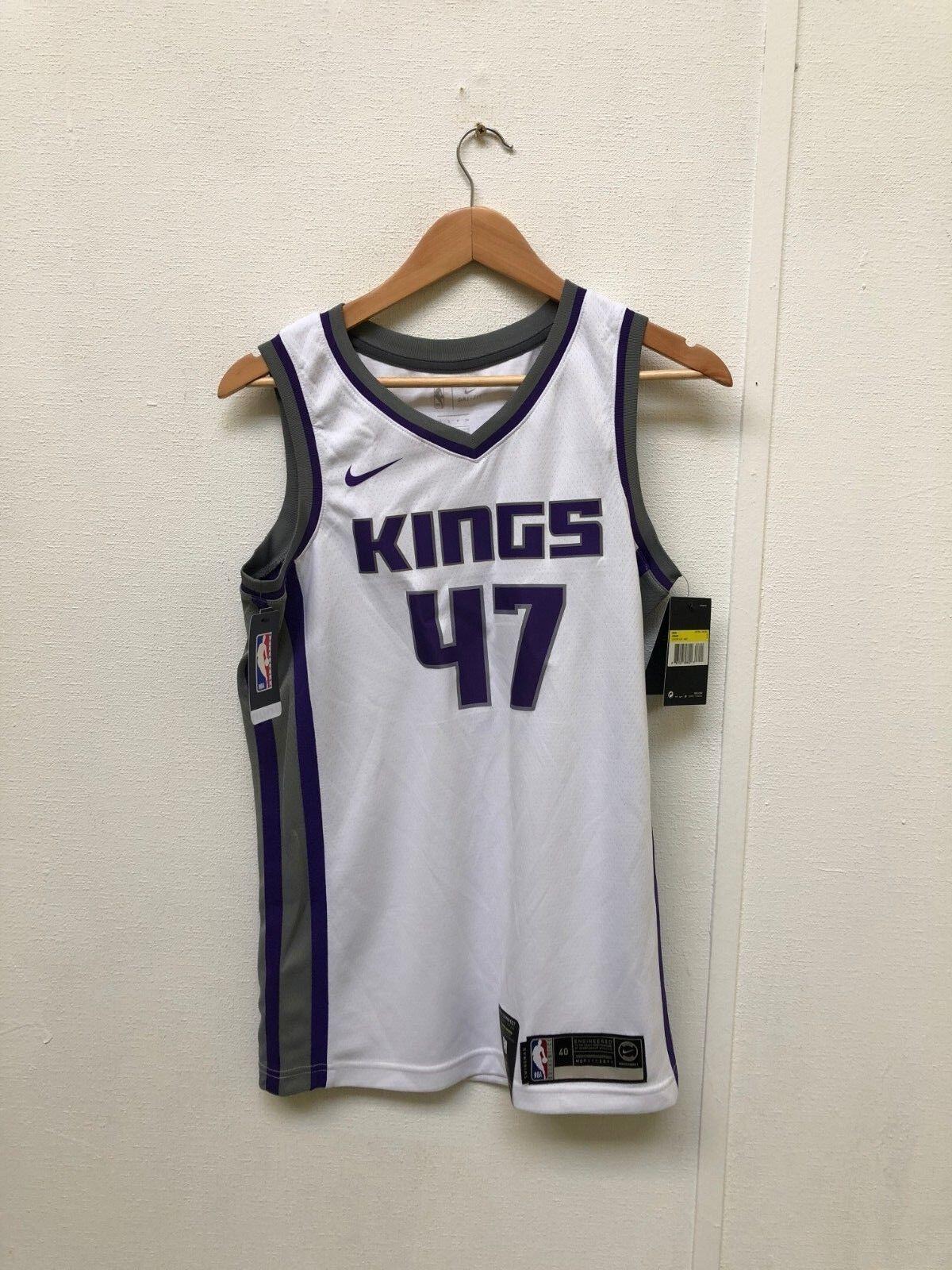 Nike Men's NBA Name-blanc-Neuf Sacramento Kings 2018 Home Jersey-Small-No Name-blanc-Neuf NBA e33797