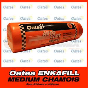 OATES ENKA FILL SYNTHETIC CHAMOIS MEDIUM 370mm x 430mm Enkafill CAR WASH Shower