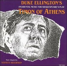 Timon of Athens [Duke Ellington's Incidental Music For Shakespeare's Play] by Stanley Silverman (CD, Dec-1993, Varèse Sarabande (USA))