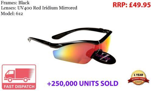 Rayzor Sports Wrap Sunglasses UV400 Anti Glare Mens Ladies Women Unisex rrp£49