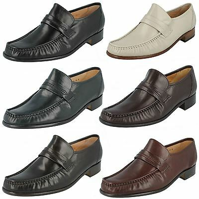 Details about  /Mens Grenson Moccasin Formal Shoes Nevada