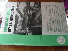 µ?. Revue Generale des Chemins de Fer RCGF 01-1976 MF77 Freinage Triage