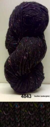 200g Aran Tweed Qualitäts Strickgarn aus Irland 100/% Wolle Landlust Kilcarra