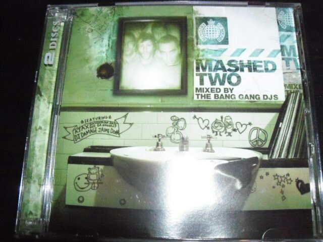 Mashed Two 2 Ministry Of Sound Mixed By The Bang Bang Dj's – Like New