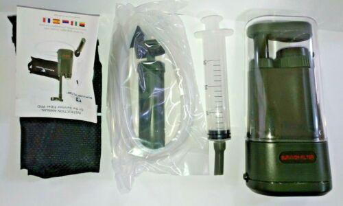 Survivor Filter PRO Water Filter 0.01 Micron