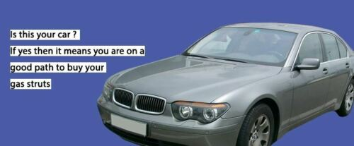 E66 2001-2009 Saloon Bonnet E65 2x Gas Strut for BMW 750 Exterior ...