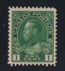 Canada-Sc-104-1911-1c-dark-green-Admiral-Mint-VF-NH