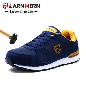 LARNMERN Men's Steel Toe Safety Work