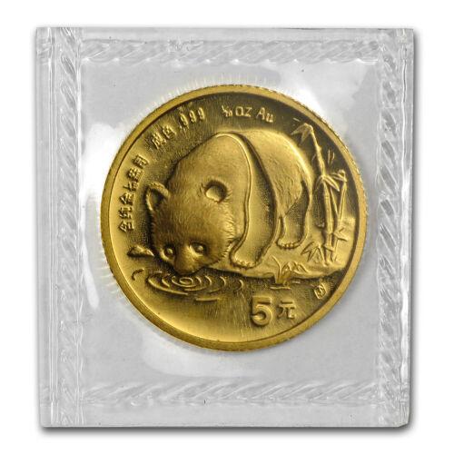 1987-S China 1//20 oz Gold Panda BU Sealed SKU #13409