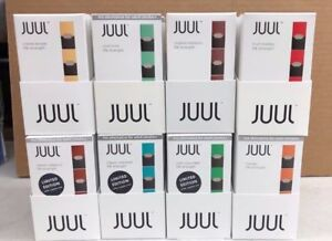 JUUL PODS MANGO/MINT/CUCUMBER/FRUIT MEDLEY/COOL MINT/CLASSIC MENTHOL ALL NEW!