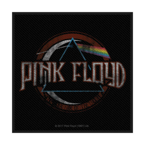 PINK FLOYD Patch Toppa Distressed Dark Side Of The Moon OFFICIAL MERCHANDISE