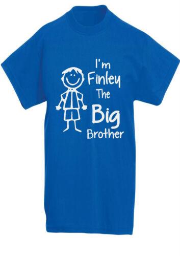 13YR Personalised I/'m the Big Brother custom big brother tee KIDS T-SHIRT 3YR
